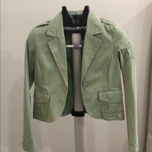 Old Navy khaki green jacket